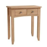See more information about the Oxford Oak 2 Drawer Dressing Table