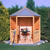 See more information about the Shire Gazebo Garden Arbour (7' x 6')
