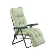 See more information about the Glendale Deluxe Repose Stripe Lounger Chair Sage