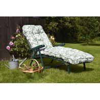 See more information about the Glendale Deluxe Repose Leaf Recliner Sunbed Sage