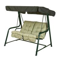 See more information about the Glendale Deluxe Repose Stripe Twin Swing Hammock Sage