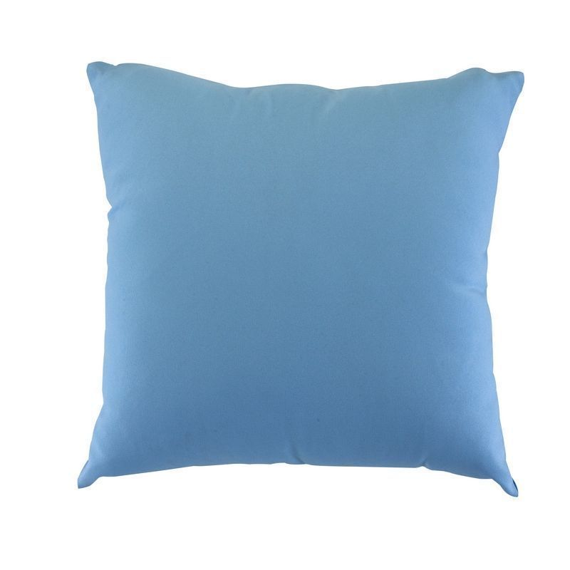 Glendale Plain 18 Inch Square Scatter Cushion Placid Blue