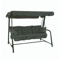 See more information about the Glendale Deluxe Slumber 3 Seat Swing Hammock Green
