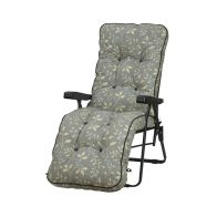 See more information about the Glendale Deluxe Repose Leaf Relaxer Chair Teal