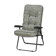 See more information about the Glendale Deluxe Repose Leaf Recliner Chair Teal