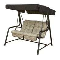 See more information about the Glendale Deluxe Repose Leaf Twin Swing Hammock Teal