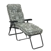 See more information about the Glendale Deluxe Slumber Floral Lounger Chair Grey