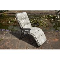 See more information about the Glendale Deluxe Slumber Floral Relaxer Chair Grey