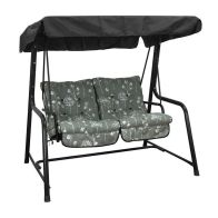See more information about the Glendale Deluxe Slumber Floral Twin Swing Hammock Grey