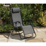 See more information about the Glendale Barcelona Textaline Relaxer Chair Grey