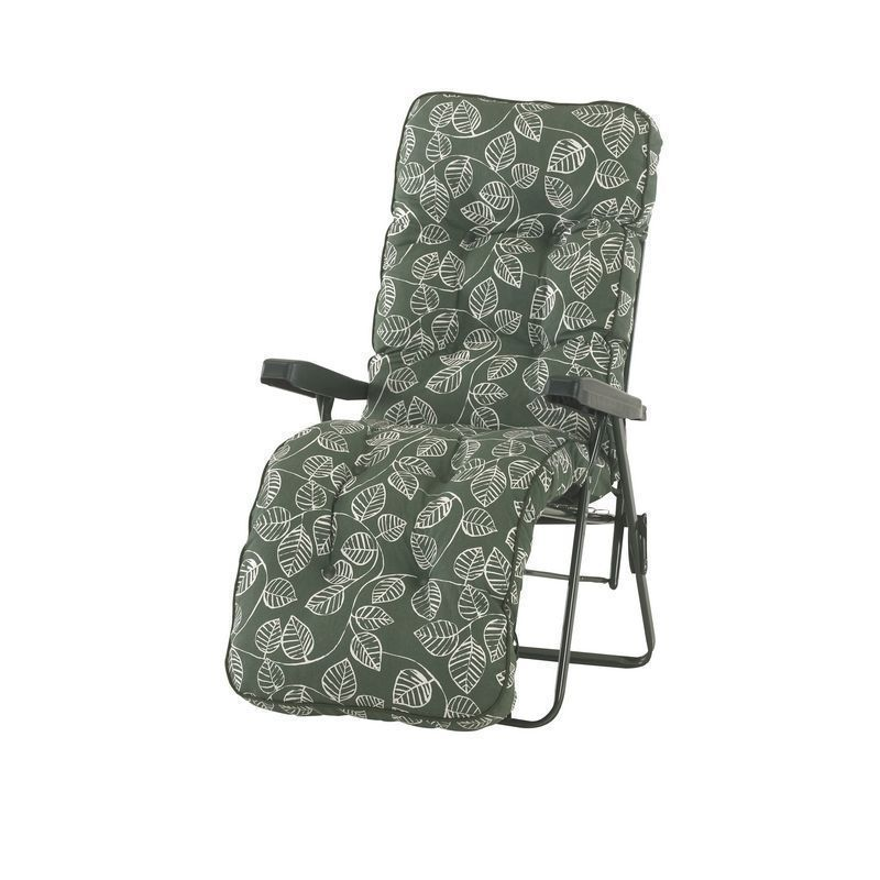 Glendale Deluxe Repose Leaf Relaxer Chair Green