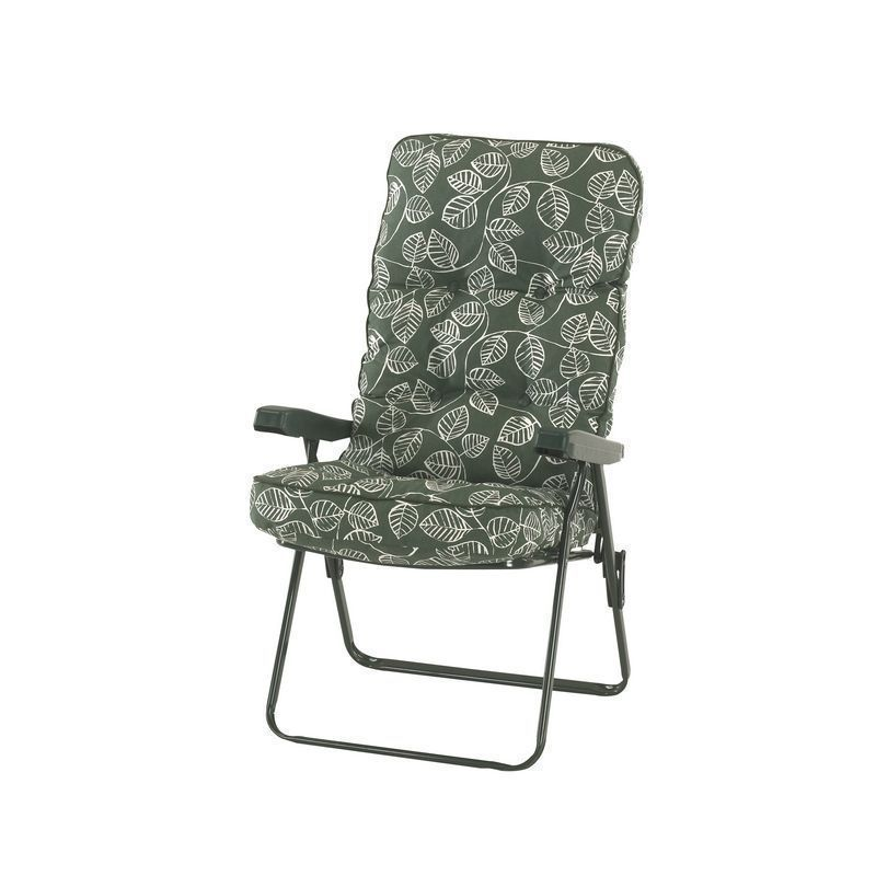 Glendale Deluxe Repose Leaf Recliner Chair Green