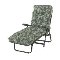 See more information about the Glendale Deluxe Repose Leaf Recliner Sunbed Green