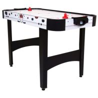See more information about the 4 Foot Air Hockey Indoor Sports Gaming Table With Pucks and Strikers