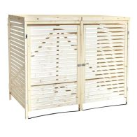 See more information about the Wooden Garden Outdoor Double Bin Store & Lifting Lid