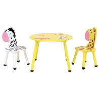 See more information about the Jungle Safari Play Table With Two Chairs