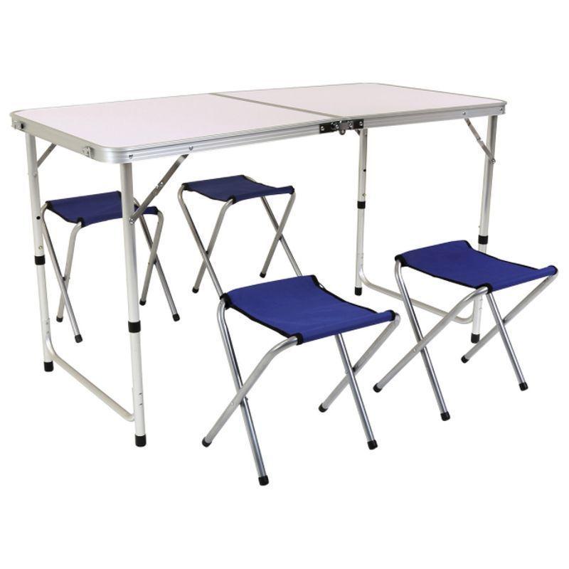 Foldable Camping Furniture Set Portable Picnic Table 4