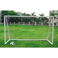 See more information about the Kids Junior 10 Foot x 6 Foot White Portable Football Goal