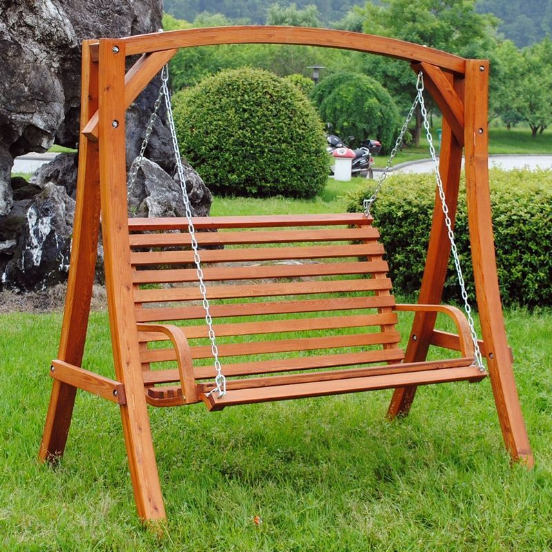Fine Wooden Large 2 3 Seater Garden Swing Seat Hammock 1 9M Unemploymentrelief Wooden Chair Designs For Living Room Unemploymentrelieforg