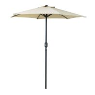 See more information about the Bentley 2M Beige Garden Crank Parasol