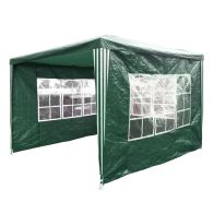See more information about the Showerproof Garden Gazebo Green 3M x 3M
