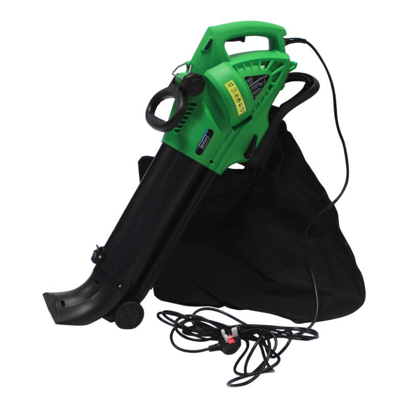 3-in1 3000W Electric 220V Leaf Blower Vacuum Shredder & 45L Bag