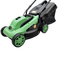 See more information about the Bentley 1200W Wheeled 30L Electric Rotary Lawnmower 30L Collector