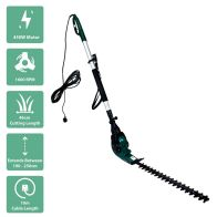 See more information about the Electric Telescopic Corded Garden Hedge Trimmer 450W