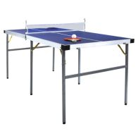 See more information about the Junior 1/2 Folding Table Tennis Table 5Foot Equipment Included