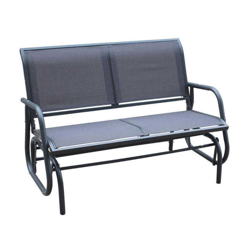 2 Seater Glider Rocking Garden Patio, Outdoor Rocking Bench Seat