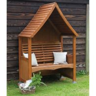 See more information about the AFK Premium Goodwood Arbour Beech Stain 2 Seat