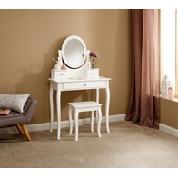 See more information about the Grace 3 Drawer Dressing Table Set White