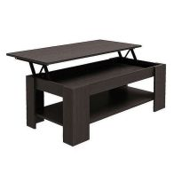 See more information about the Dark Brown Lift Up Coffee Table