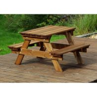 See more information about the Charles Taylor Kids Picnic Table Gold Range - 20 Year Guarantee