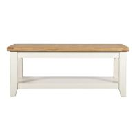 See more information about the Harmony White Large 1 Shelf Coffee Table