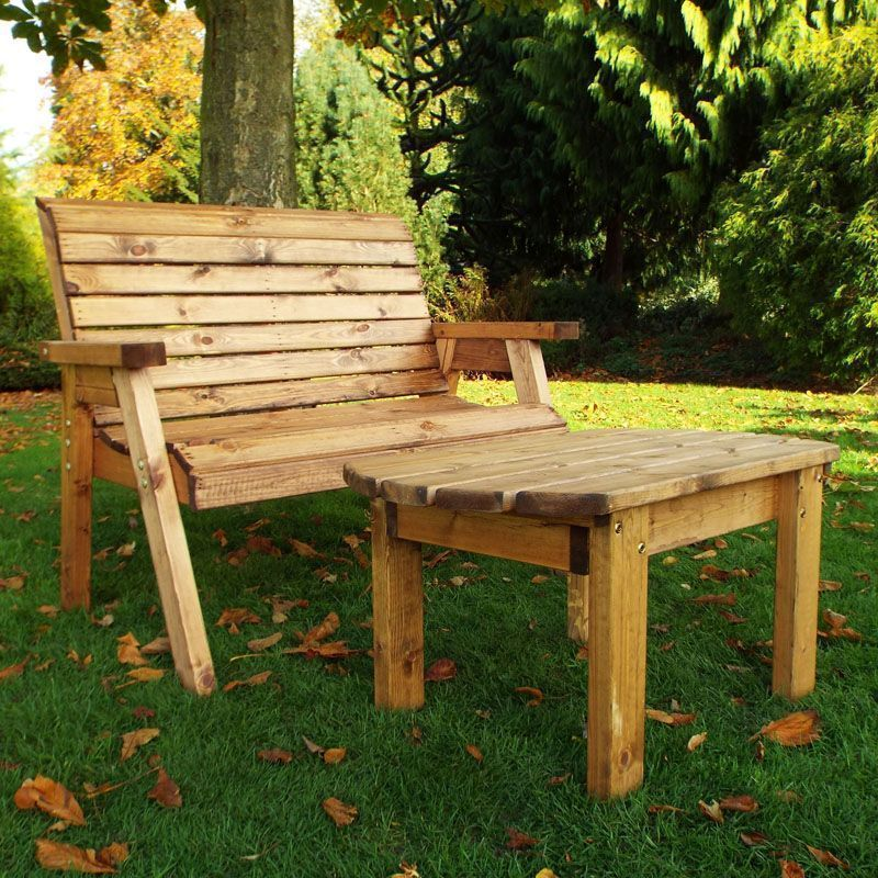 Deluxe Bench Scandinavian Redwood Garden Set Buy Online