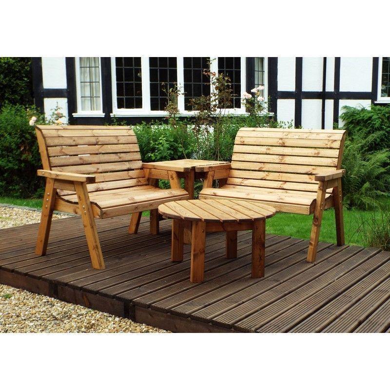 Charles Taylor 4 Seat Corner Garden Furniture Set - Buy ...