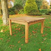See more information about the Deluxe Scandinavian Redwood Square Coffee Table Garden