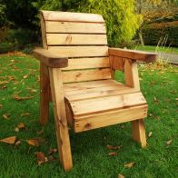 See more information about the Little Fellas Garden Chair Scandinavian Redwood