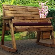 See more information about the Garden Bench Rocker Scandinavian Redwood