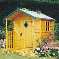 See more information about the Shire Hide Garden Playhouse (4' x 4')