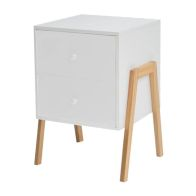 See more information about the 2 Drawer Kids Bedside Table - White