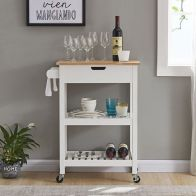 See more information about the Bentley Kitchen Trolley Cart White