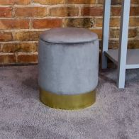 See more information about the Bentley Velvet Storage Foot Stool Grey