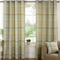 "See more information about the Hamilton Check Curtains (45"" Width x 54"" Drop) - Meadow"
