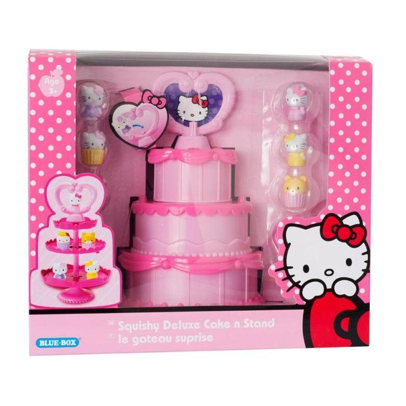 Hello Kitty Squishy Cake And Stand : Hello Kitty Squishy Cake and Stand - Buy Online at QD Stores