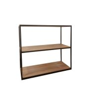 See more information about the Industrial Chic Oak & Steel Bookcase