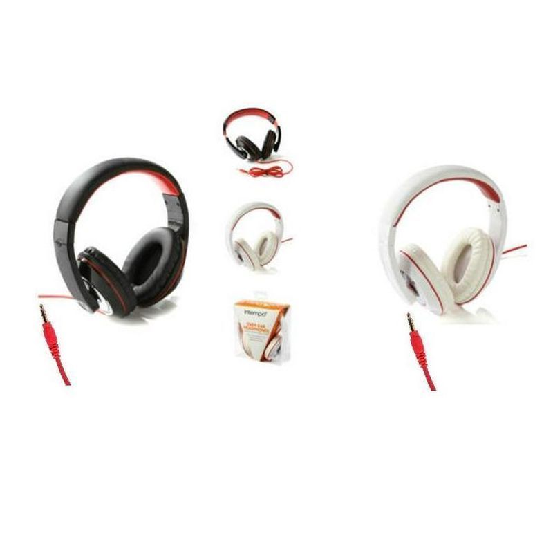 Intempo Over Ear Headphones White