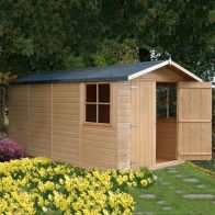 See more information about the Shire Jersey Shiplap Garden Shed 7' x 13'