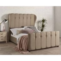See more information about the Juliette Wing Back Double Bed Brown